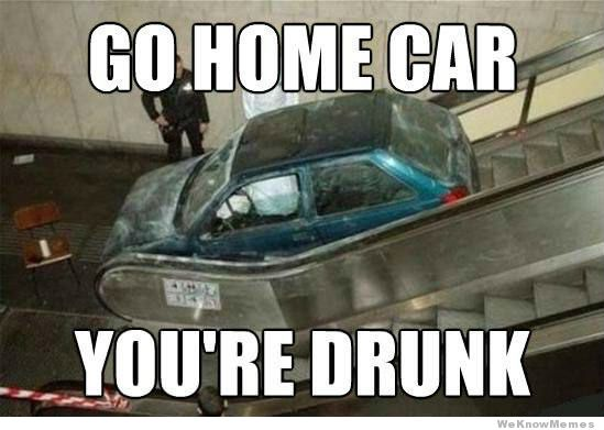go home car meme