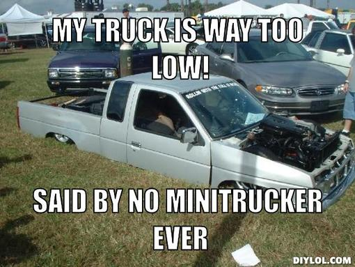 lowest truck meme